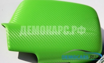 Зеленый 3D карбон