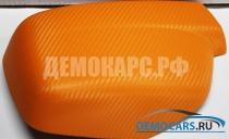 3D карбон - Оранжевый