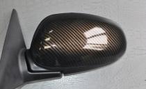 Карбон 2D - черно-коричневый