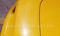 3D карбон желтый - ширина 1,52