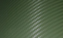 3D карбон темно зеленый