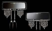 Зеркало D.A.D с кристаллами Swarovski