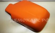 Матовая оранжевая виниловая пленка - ширина 1,52