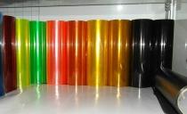 Пленка для фар черная (30 см ширина)