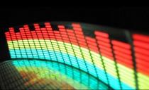 Неоновый эквалайзер - Мультицвет