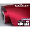 Матовый хром металлик TeckWrap красный